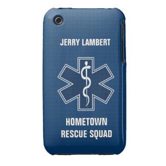 Paramedic EMT EMS Name Template iPhone 3 Case-Mate Case