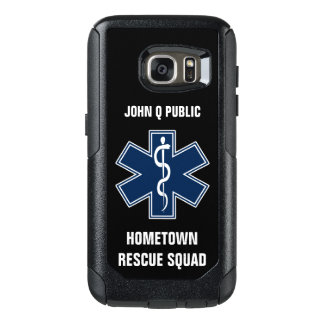 Paramedic EMT EMS Name template OtterBox Samsung Galaxy S7 Case