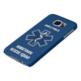 Paramedic EMT EMS Name Template Samsung Galaxy S6 Case