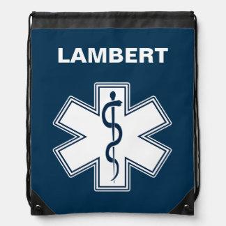 Paramedic EMT EMS Drawstring Bags