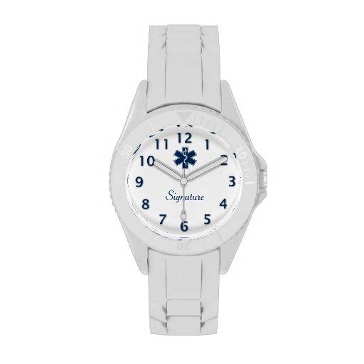 Paramedic EMT EMS Signature Wristwatches