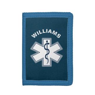 Paramedic EMT EMS Trifold Wallet
