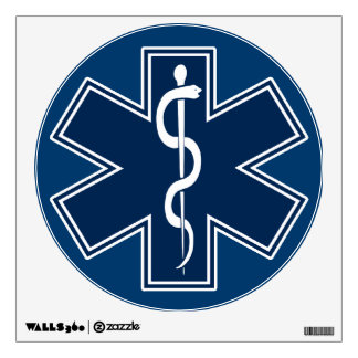 Paramedic EMT EMS Wall Decal