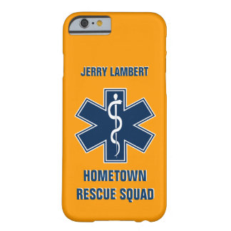 Paramedic EMT Name Template Barely There iPhone 6 Case