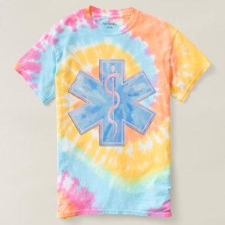 Paramedic EMT Pastel Tie Dye T-shirt