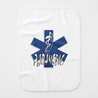 Paramedic Family Burp Cloths