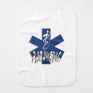 Paramedic Family Baby Burp Cloths