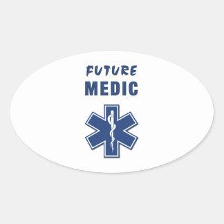 Paramedic Future Medic Oval Sticker