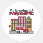 Paramedic Gift Round Sticker