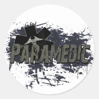 Paramedic Grunge Sticker