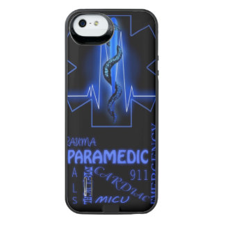 Paramedic iPhone 5/5s battery case Uncommon Power Gallery™ iPhone 5 Battery Case