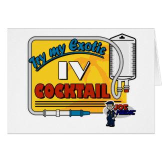 Paramedic IV Cocktail Card