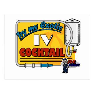 Paramedic IV Cocktail Postcard