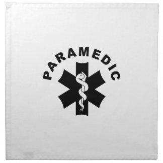 Paramedic Logo Theme Cloth Napkin