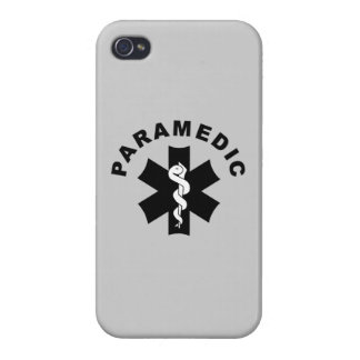 Paramedic Logo Theme iPhone 4/4S Cases