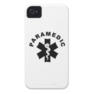 Paramedic Logo Theme iPhone 4 Cases