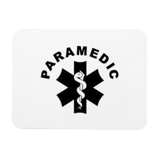Paramedic Logo Theme Magnet
