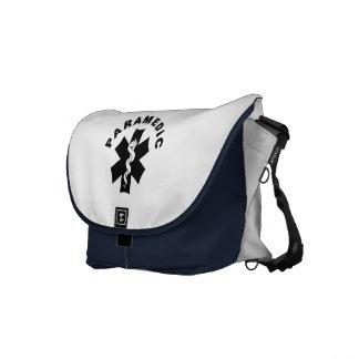 Paramedic Logo Theme Commuter Bag