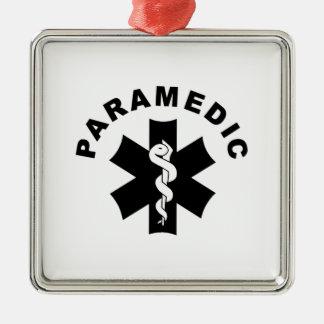 Paramedic Logo Theme Ornament
