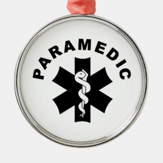 Paramedic Logo Theme Ornaments