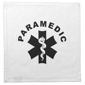 Paramedic Logo Theme Printed Napkin