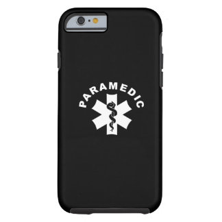 Paramedic Logo Theme Tough iPhone 6 Case