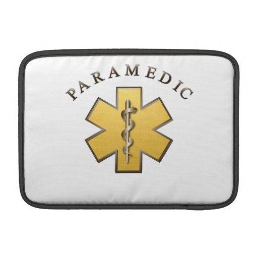 Paramedic MacBook Sleeves