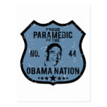 Paramedic Obama Nation Postcard