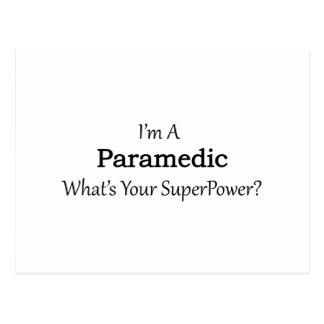 Paramedic Postcard