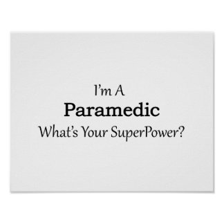 Paramedic Poster