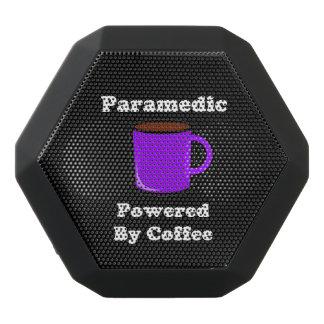 """Paramedic"" Powered by Coffee Black Bluetooth Speaker"
