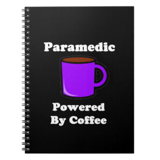 """""""Paramedic"""" Powered by Coffee Notebook"""