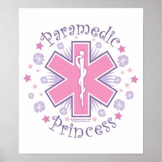 Paramedic Princess Poster