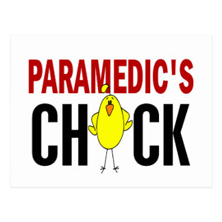 Paramedic's Chick 1 Postcard