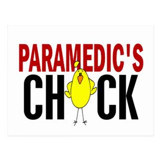 PARAMEDIC'S CHICK POSTCARDS
