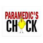 PARAMEDIC'S CHICK POSTCARDS