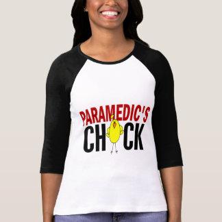 PARAMEDIC'S CHICK T SHIRT