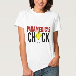 PARAMEDIC'S CHICK TSHIRT