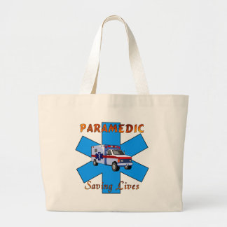 Paramedic Saving Lives Bags