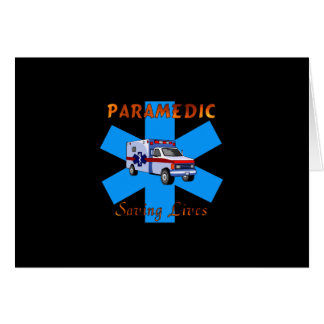Paramedic Saving Lives Cards
