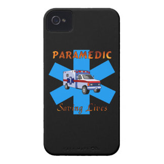 Paramedic Saving Lives iPhone 4 Case-Mate Case