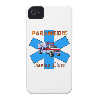 Paramedic Saving Lives iPhone 4 Cover