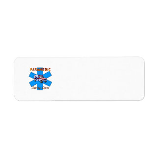 Paramedic Saving Lives Custom Return Address Label