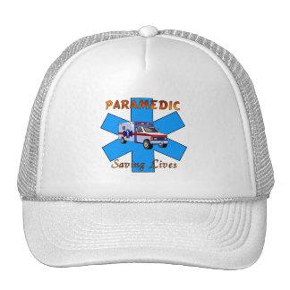 Paramedic Saving Lives Trucker Hat