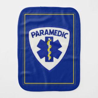 Paramedic Sheild Baby Burp Cloth
