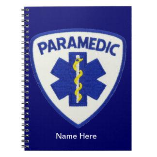 Paramedic Shield Spiral Notebook