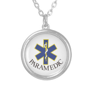Paramedic Silver Plated Necklace