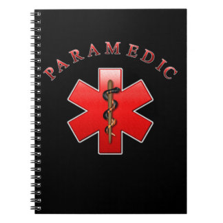 Paramedic Spiral Notebook