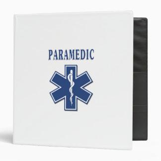 Paramedic Star of Life Binder