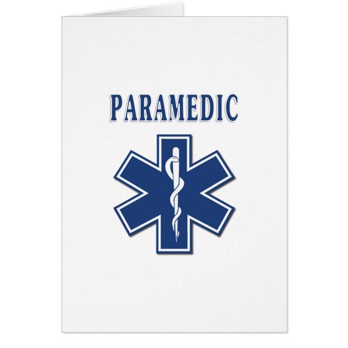 Paramedic Star of Life Card